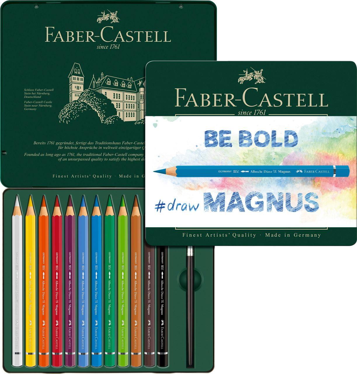 PINCEL FABER-CASTELL ESTUCHE 48 LAPICES ACUARELABLES