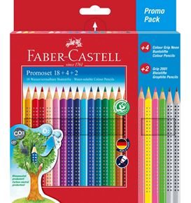 Faber-Castell - Estuche regalo color Grip 18+4+2