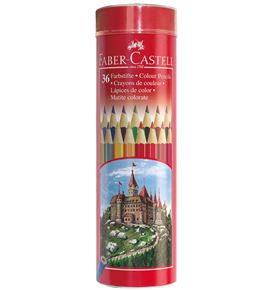 Faber-Castell - Bote c/36 lápices color