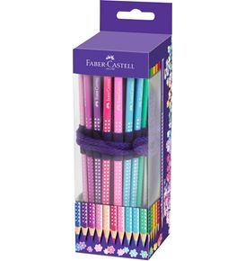 Faber-Castell - Estuche enrollable para lápices de color Sparkle, 20 colores