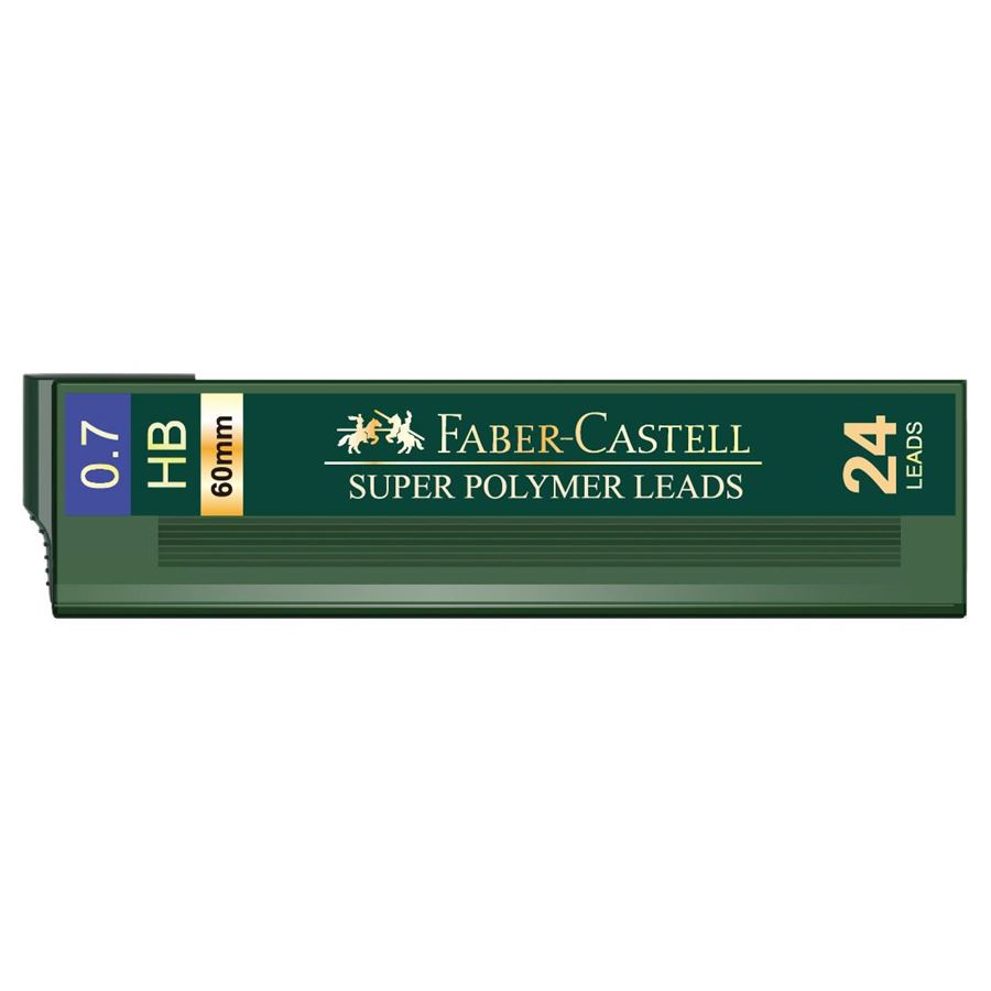 Faber-Castell - Minas 1247, HB, 0,7 mm