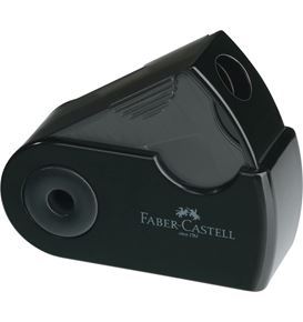 Faber-Castell - Sacapuntas simple Sleeve Mini negro